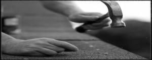 Roofer - shingle nail